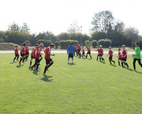 Fussballschule Rocco Milde and friends 2015